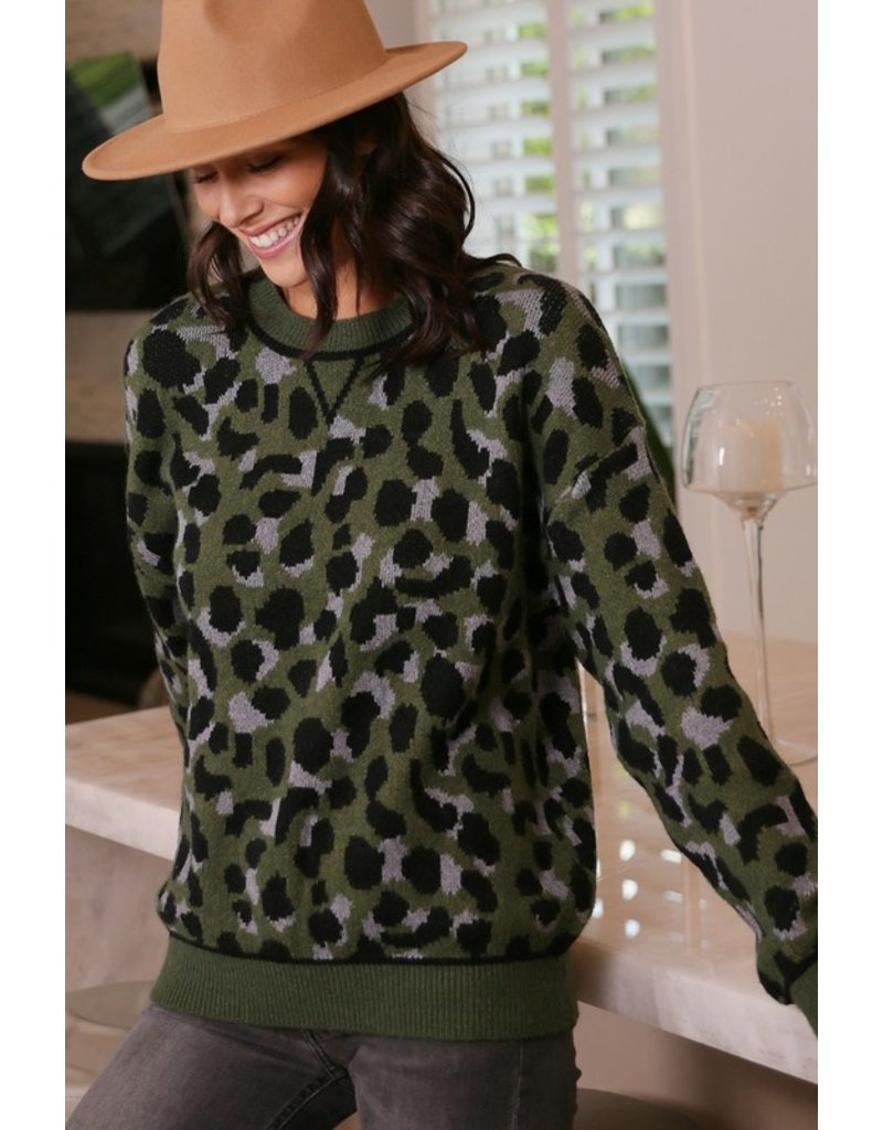 The Anything Goes Leopard Sweater