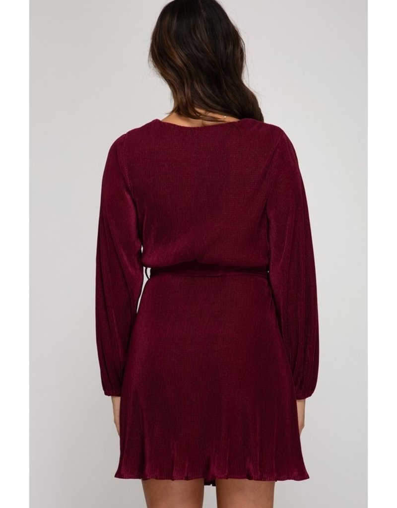 The Upstate New York Pleated Dress
