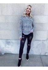 The Peyton Leopard Long Sleeve Top