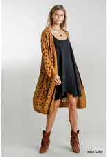 The Worth Every Penny Spotted Cardigan