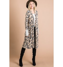 The Leopard Lady Duster Cardigan
