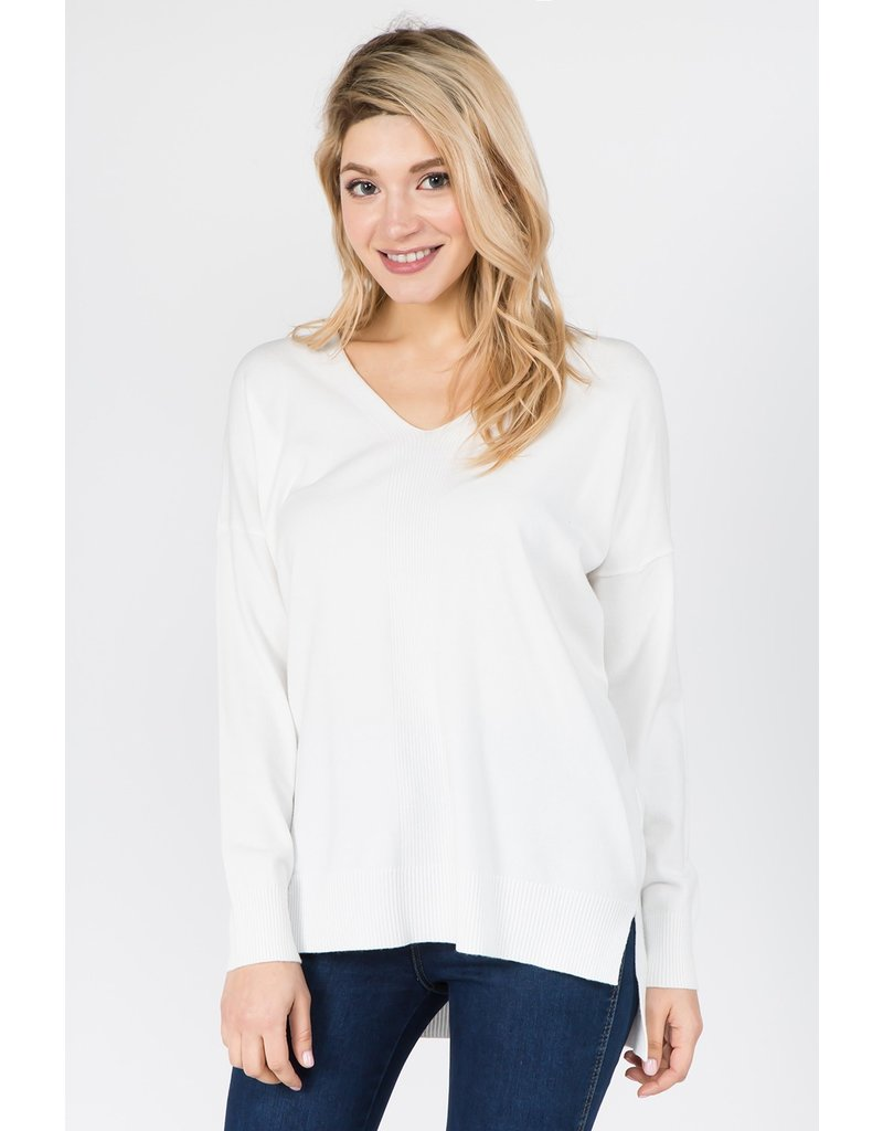 The Dreamer Ribbed Sweater