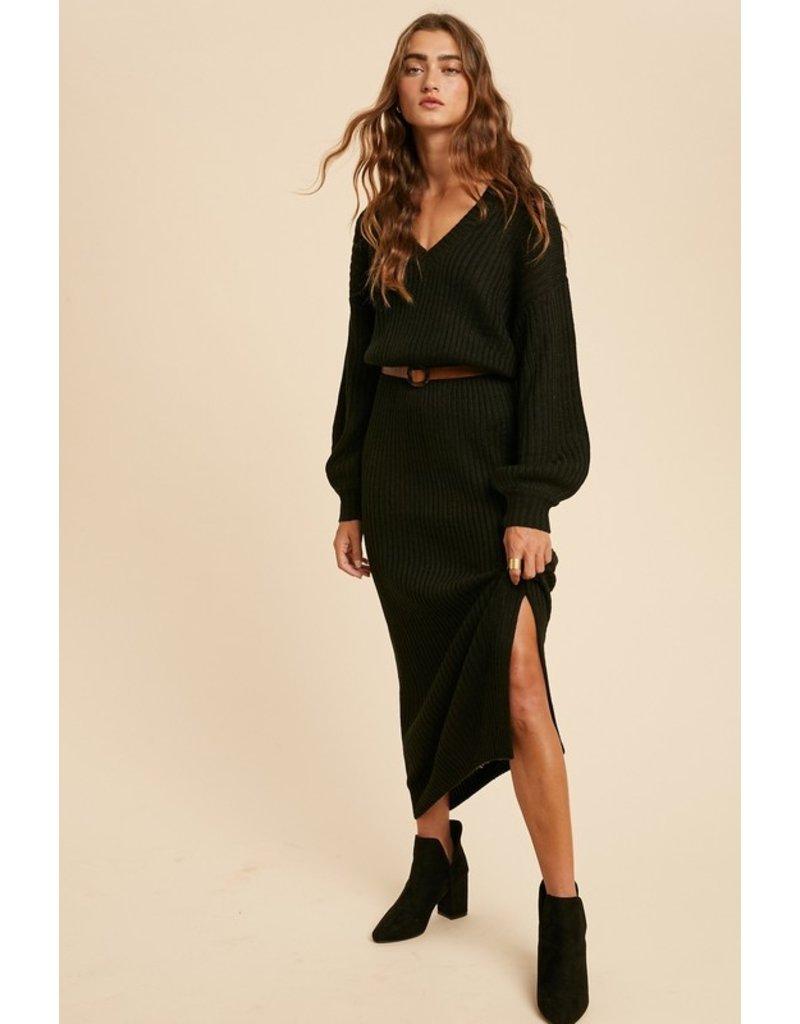 The Park Avenue Chic Sweater Dress