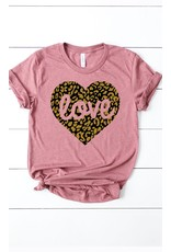 The Leopard Love Graphic Tee