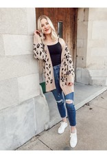 The A Day Out Leopard Cardigan