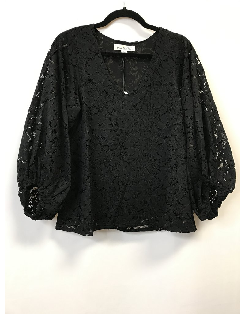 The A Lavish Life Lace Top
