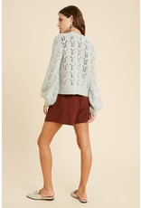The Blue Angel Chunky Knit Cardigan