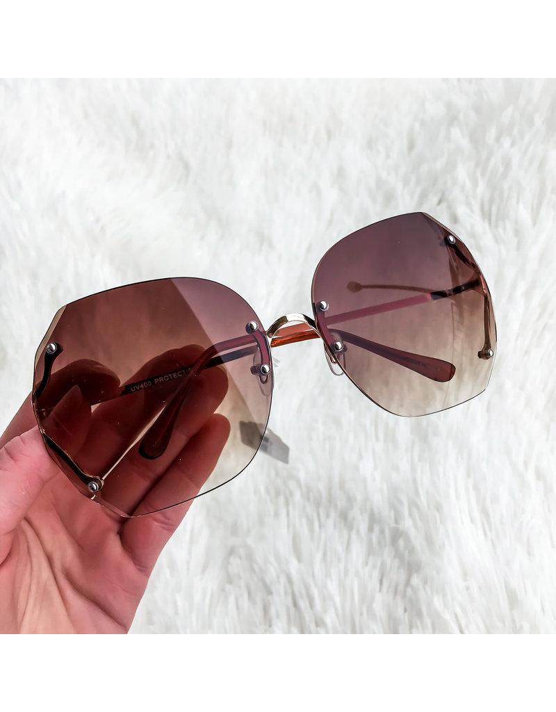 She's Chic Gradient Sunglasses