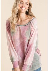 The To Dye For Dolman Sleeve Top