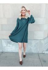 The Julie Pocketed Bell Sleeve Dress