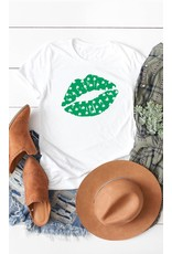 The Shamrock Lips Graphic Tee