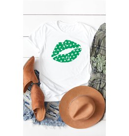 The Shamrock Lips Graphic Tee