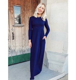 The A Feeling Like This Pocketed Maxi Dress