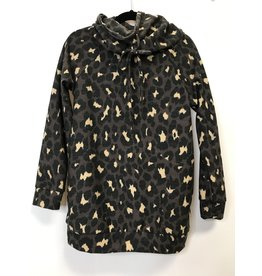 The Cowl Neck Leopard Tunic - Kids