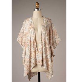 The Love Without Limits Printed Kimono
