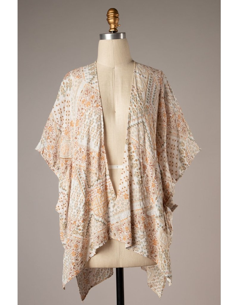 The Love Without Limits Printed Kimono