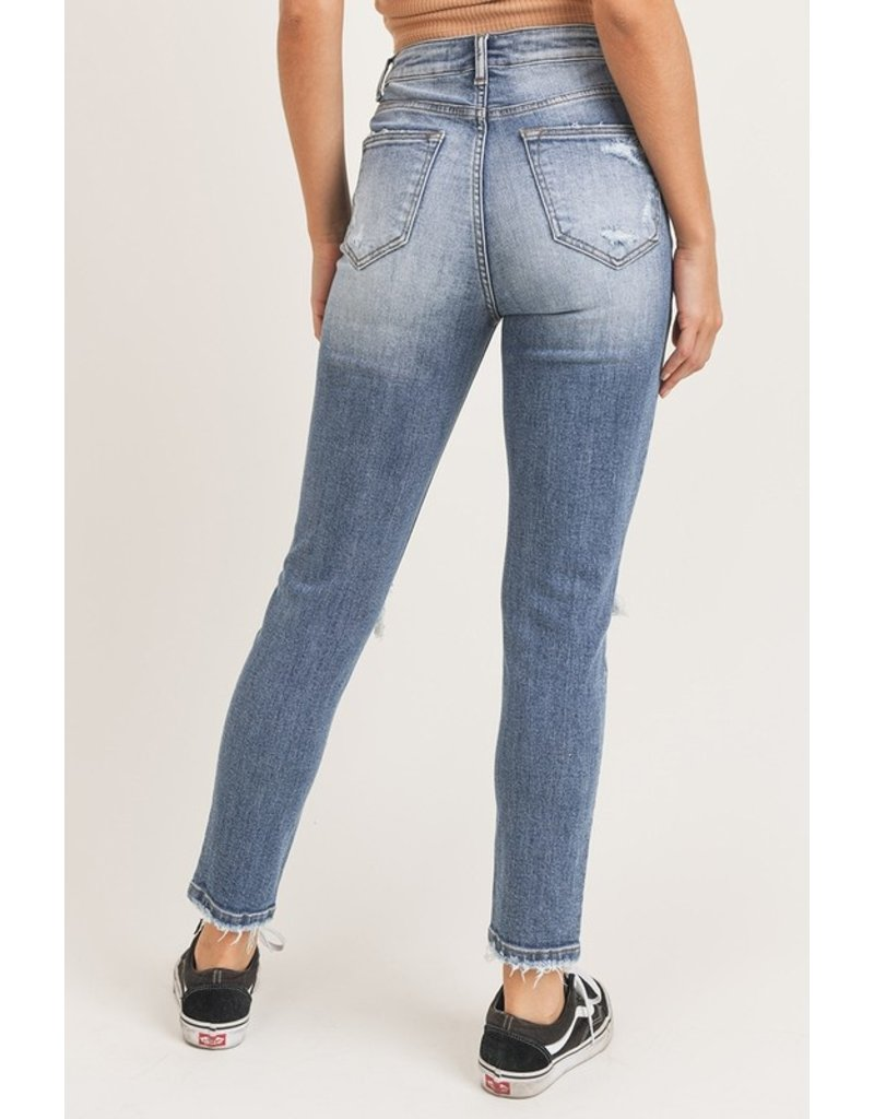 The Sammy Distressed Vintage Wash Skinny