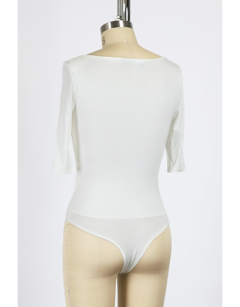 The Sincerely Yours Square Neck Bodysuit