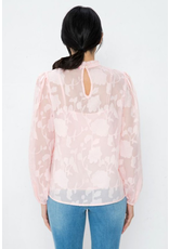 The Nominee Flower Embroidered Top