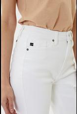 The Memphis Distressed Boyfriend Jeans - White