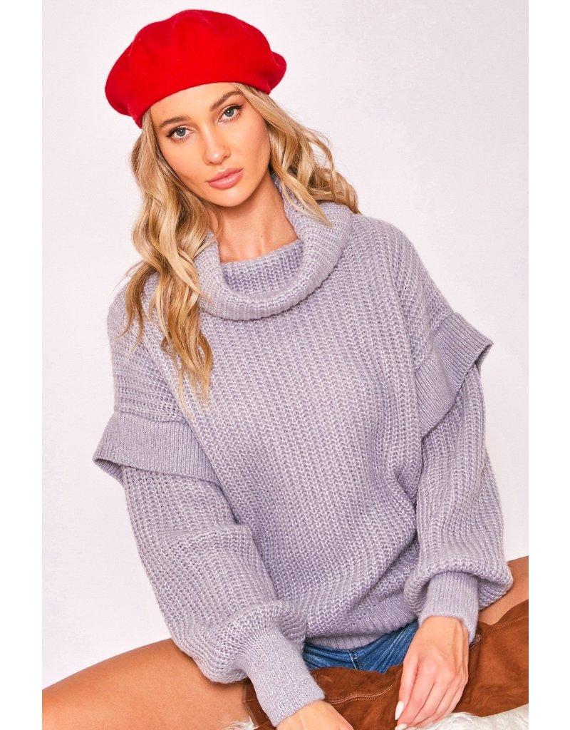 The Share The Love Balloon Sleeve Sweater