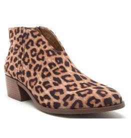 Qupid Dolores Leopard Bootie