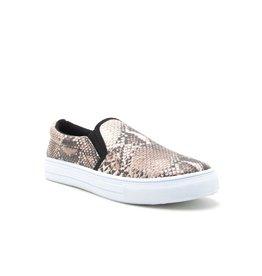 Qupid Breanna Snake Print Sneaker