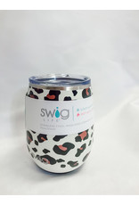 The Swig Stemless Wine Cup - Leopard
