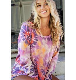 The Alexa Tie Dye Top
