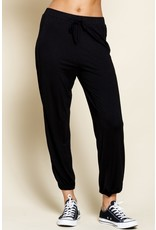 The Carly Knit Joggers - Black