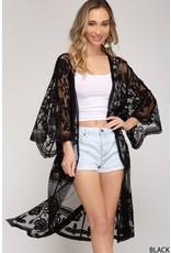 The Adore You Lace Duster Kimono