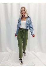 The Courtney Paper Bag Waist Pants