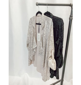 The Bling Babe Sequin Blazer