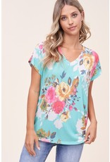The Chandler Floral Print Tee