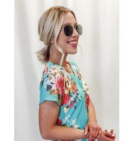 Clarity Aviator Sunglasses