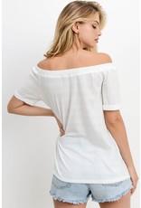 The Allison Off The Shoulder Knit Top