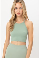 The On Target Ribbed Crop Top