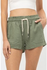The Seeing The Sunshine Linen Shorts