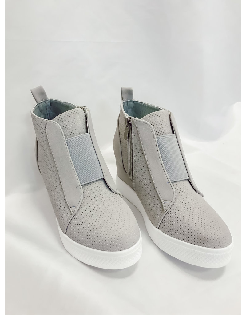 The Zoey Wedge Sneaker