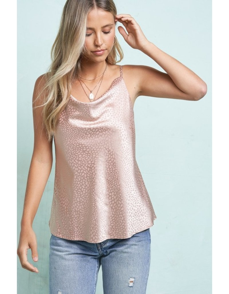 The Lucy Leopard Cami