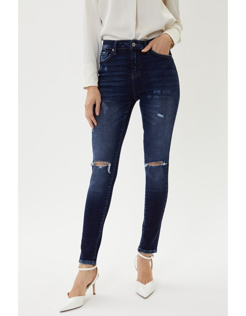 The Norah Distressed High Rise Skinny