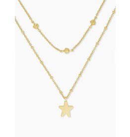 Kendra Scott Jae Star Multi Strand Necklace