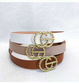 The Hollie Braided Buckle Belt