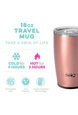 The Swig Travel Mug - Rose Gold 18oz
