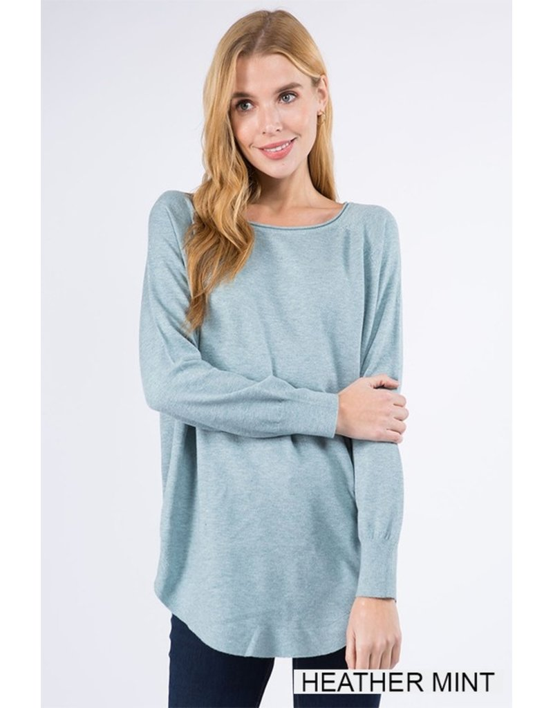 The Dreamer Boat Neck Sweater