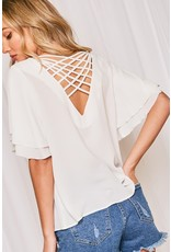The Avery Criss Cross Back Top