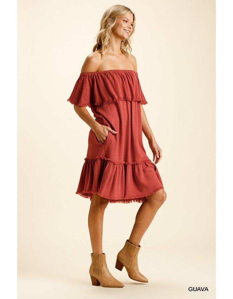 The Kerri Off The Shoulder Dress
