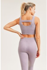 The Ribbed Sports Bra