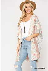 The Shiloh Floral + Animal Print Kimono