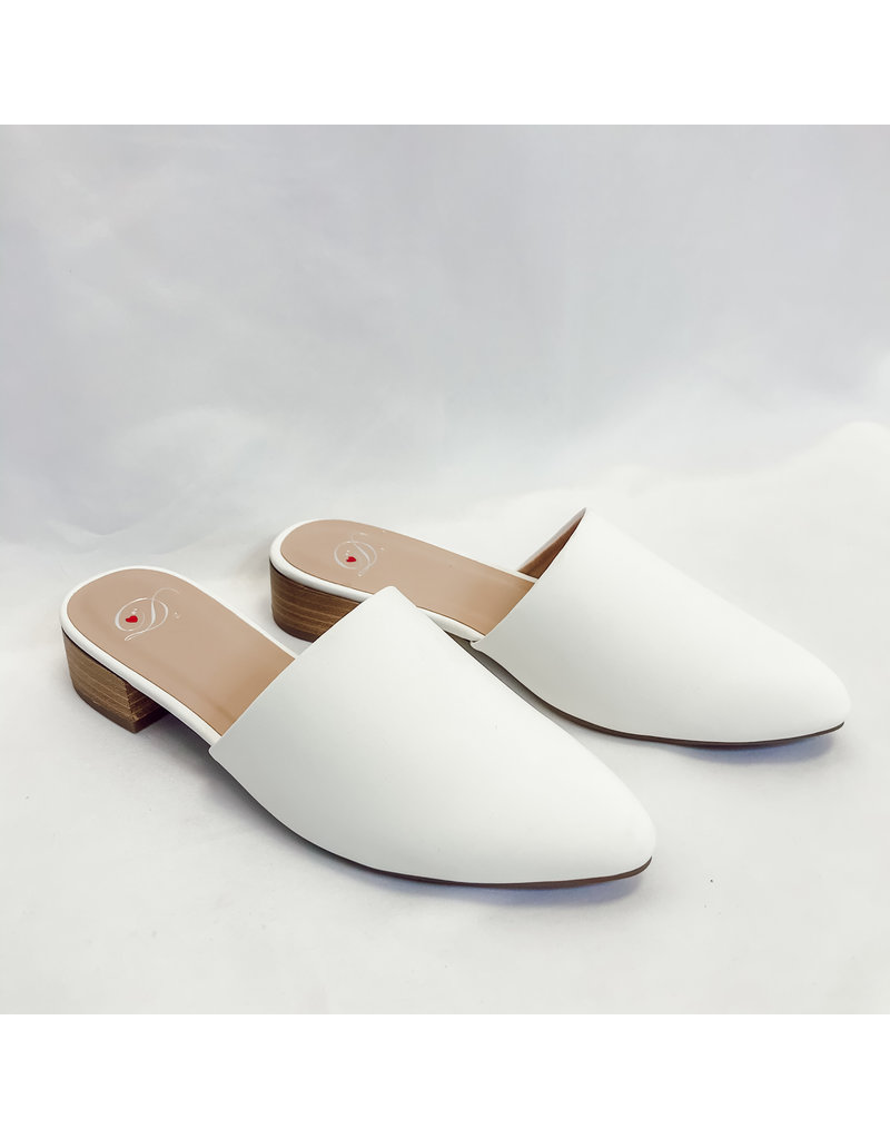 The Meet Up Heeled Mules
